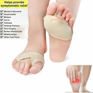 Ball of Foot Cushions Insoles Mortons Neuroma Metatarsal Support Sesamoiditis