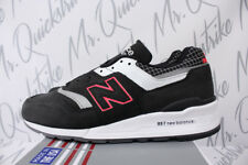 NEW BALANCE 997 SZ 11 MADE IN US COLOR SPECTRUM BLACK WITH WHITE & RED M997CR