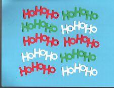 Ho Ho Ho Word Die Cuts - Cricut Die Cuts - Christmas Die Cuts .