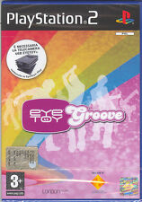 EYE TOY GROOVE - PS2 (NUOVO SIGILLATO) ITALIANO