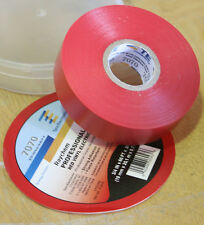 """Raychem Professional Grade Vinyl Electrical Tape 3/4"""" x 66Ft - Red"""