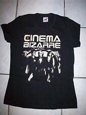 CINEMA BIZARRE - CIRCLE LINES - GIRLIE SHIRT - Größe S - Neu