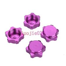4PCS 17mm Hex Nuts Cover Wheel Hub Purple For HSP RC 1:8 buggy Car Tires Tyre