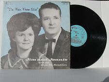 JIM & JENNIE HALL & THE DIXIE MOUNTAIN RAMBLERS I'm Free From Sin vinyl LP