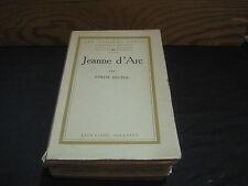 Joseph DELTEIL: Jeanne d'Arc. Ed n°tée/Cahiers Verts