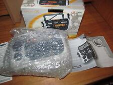 GPX AM / FM Flashlight Portable Radio, Water Resistant (New) NOAA Weatherband