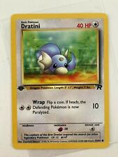 New Listing�� Dratini - No 53/82 1st Ed Team Rocket WotC card Psa Ready Vtg Pokemon 2000 �