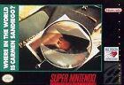 Where in the World Is Carmen Sandiego (Super Nintendo, 1993)