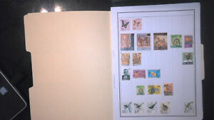 SRI LANKA COLLECTION ON ALBUM PAGES, MINT/USED