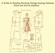 "BOOKLET - ""A Guide to Grading Resizing Vintage Sewing Patterns"""