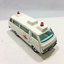 Vintage Tomica Toyota Hiace Commuter Right Hand Drive Ambulance 1975 Japan