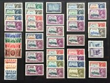 Br. Commonwealth George V 1935 Jubilee stamps m/mint Selection.