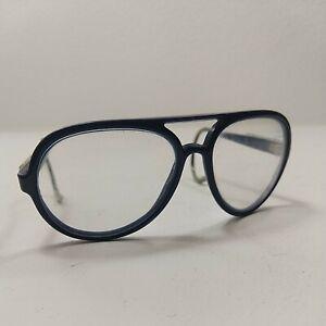 Ektelon Racquetball Safety Glasses Blue Aviator Vintage