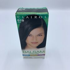 New Black 618 Clairol Balsam Color Permanent  Dye 100% Gray Coverage