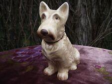 Vtg Art Deco SylvaC Pottery Beige Seated Scottie Scottish Terrier Mac Dog 1205