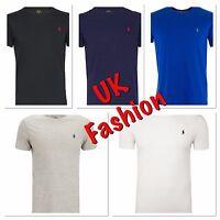 Brand New men's Ralph Lauren Cotton Short Sleeve Polo T Shirt All Sizes S-XXL***