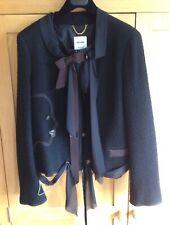 Moschino Vintage Black Ladies Jacket UK 14
