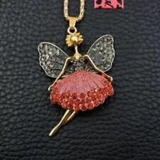 Betsey Johnson Fairy Pendant Necklace