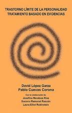 Trastorno Limite de La Personalidad, Tratamiento Basado En Evidencias (Paperback