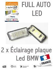 Éclairage plaque immatriculation LED BMW E46 Berline Touring Compact 1998-2005