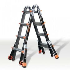 Little Giant Dark Horse Fibreglass Multi Purpose Ladder 4 Rung 1303-126