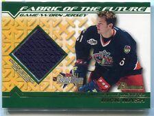 2002-03 Bowman YoungStars Jerseys RN Rick Nash Rookie Jersey Fabric Future (a)