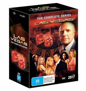 Las Vegas Complete TV Series (DVD, 2020, 25-Disc Set)