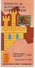 España Estatuto de Autonomía de Castilla León año 1984 (DI-106)