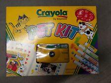 Crayola by KeyStone 35mm Film Camera Pet Kit Vintage