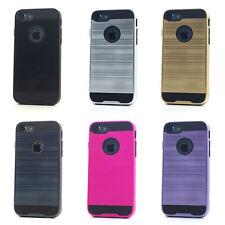 Lot/6 Brushed Finish Hybrid Case for iPhone 7 Wholesale