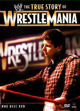 The WWE: The True Story of WrestleMania (DVD, 2015) NEW SEALED 78B