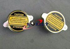 2pcs 1.1 BAR RADIATOR CAP FOR ALL JAPAN CARS HONDA/ACURA/MAZDA/MITSUBISHI/NISSAN