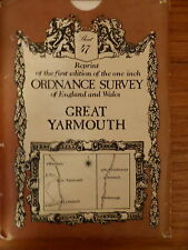 ORDNANCE SURVEY REPRINT FIRST EDITION GREAT YARMOUTH SHEET 47 PAPER