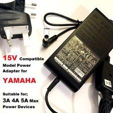 Compatible 15V 3A Adapter for Yamaha 15V 2.66A, TSX-W80 TSX-80 TSX-70 TSX-70BU