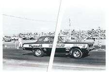 1960s Drag Racing-Shirley Shahan-DRAG-ON-LADY-1965 Plymouth Belvedere 426 Hemi