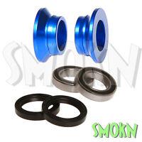 RFX Rear Wheel Spacers & Bearing Kit fits KTM SX 125 200 XC 13-20 Blue 250 300