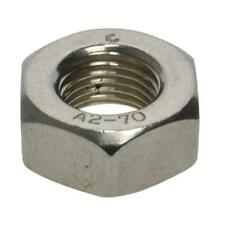 M2 M3 M4 M5 M6 M8 M10 M12 M14 M16 M20 Metric Coarse Fine Hex Nut Stainless G304