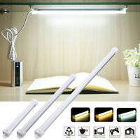 USB LED Strip Light Tube Plafoniera Neon 52CM  5V With Cable On /Off Switch