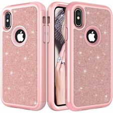 Luxury Bling Glitter Protective Case Phone Covers For iPhone XS Max XR 7 8 Plus