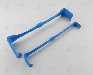 Richardson Eastman Insulated Double Ended Retractor Set of 2 Pcs CareInstruments