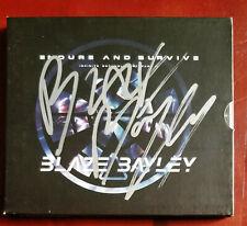 Blaze Bayley Iron Maiden Signed CD (heavy metal Judas Priest Saxon Wolfbane)