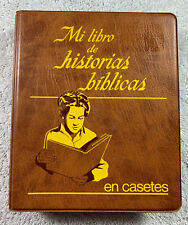 Spanish My Book of Bible Stories on Cassette Tapes w/ Case Watchtower Jehovah