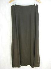 Collette Dinnigan Size 12 Dark Brown Chocolate Silk Formal Silk