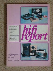 Hifi Report 1973 - Testberichte und Marktübersichten, Fono Forum, Selten