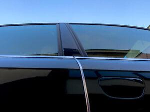 Chrom Türkantenschutz Kanten Schutz mit 3M Kleber 2 Stück x 100Cm VW Golf 1