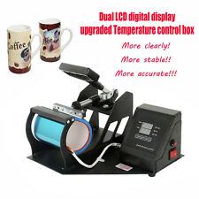 Cup Coffee Mug Heat Press Transfer Sublimation Machine New Digital Display