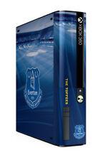 Xbox 360 E GO Console Skin Sticker Everton Football Club Toffees Brand New