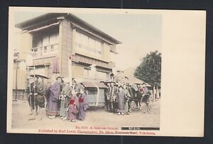 Japan cover - Karl Lewis picture post card #2119 -a Japanese Funeral