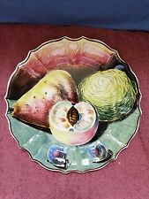 "HAND-PAINTED/SIGNED & MADE in ITALY ~~ CERAMIC 13"" PLATTER ~~ FREE SHIPPING!!"