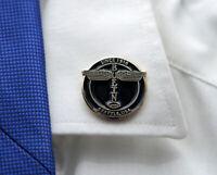 Pin BOEING Company Totem Vintage Logo Emblem pin black/gold round metal